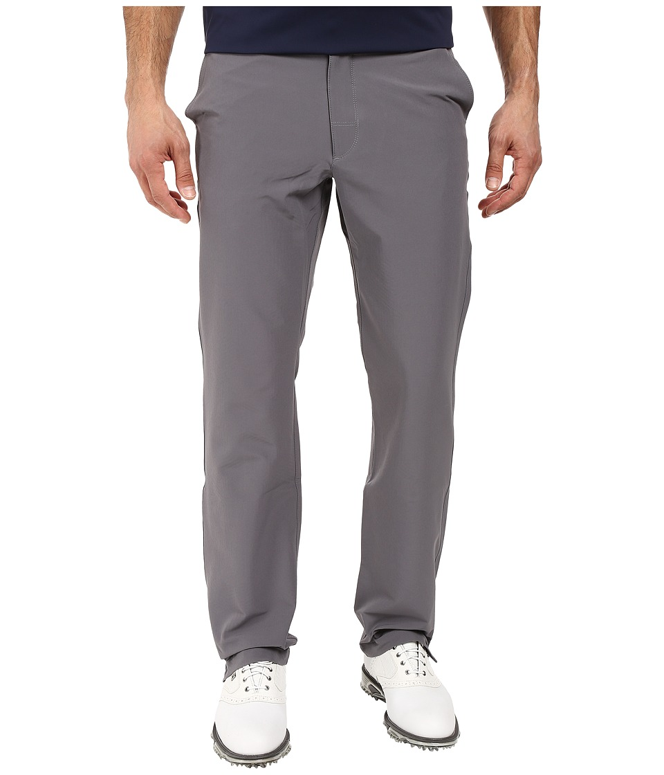 Under Armour Golf - Match Play ColdGear(r) Infrared Pants (Black/True Gray Heather/Black) Men's Casual Pants