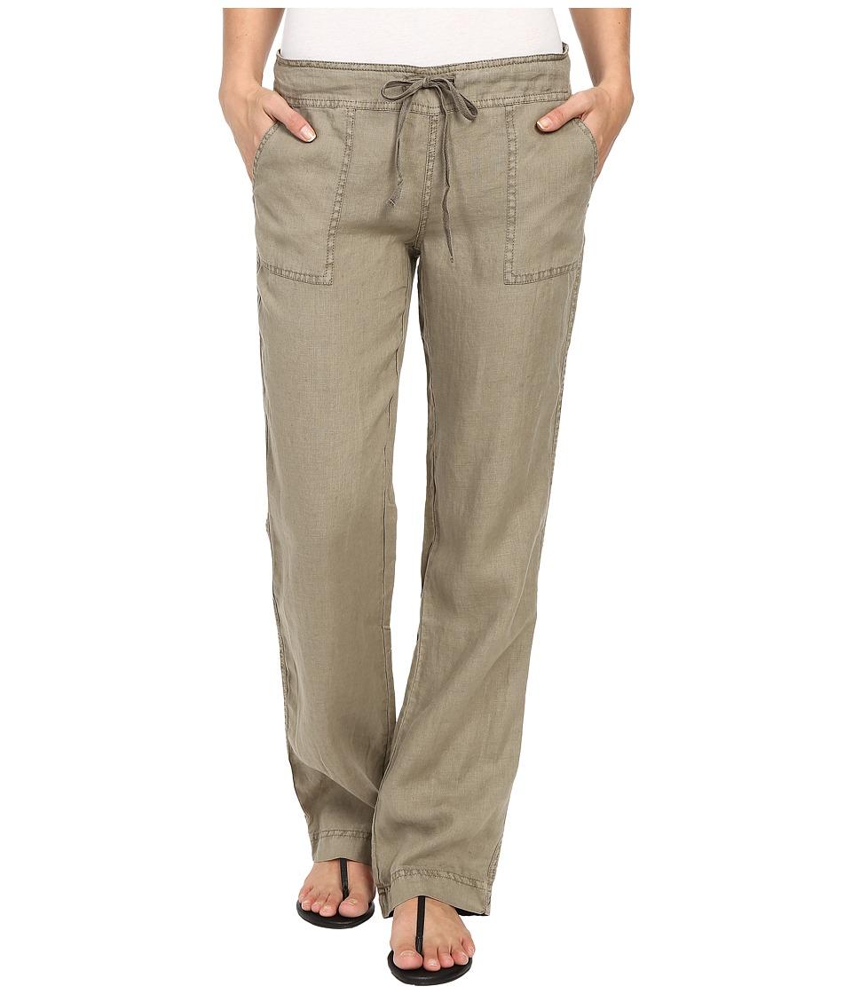 Michael Stars - Linen Drawstring Pant (Olive Moss) Women's Casual Pants