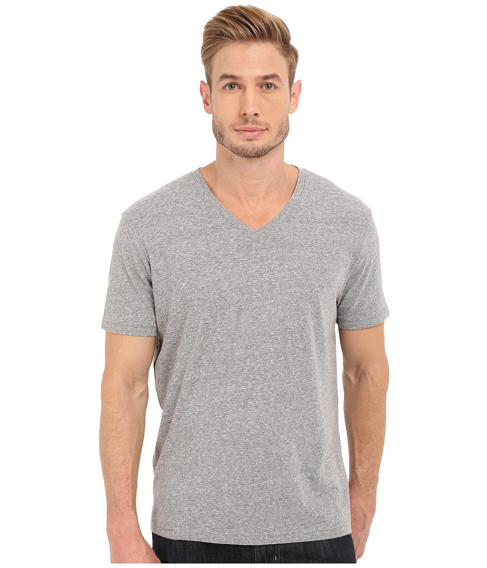 Lucky Brand - V-Neck Tee (Quiet Shade) Men's T Shirt