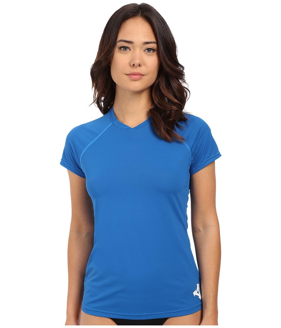 XCEL Wetsuits - Varsity S/S UV (Nautical Blue) Women's Swimwear