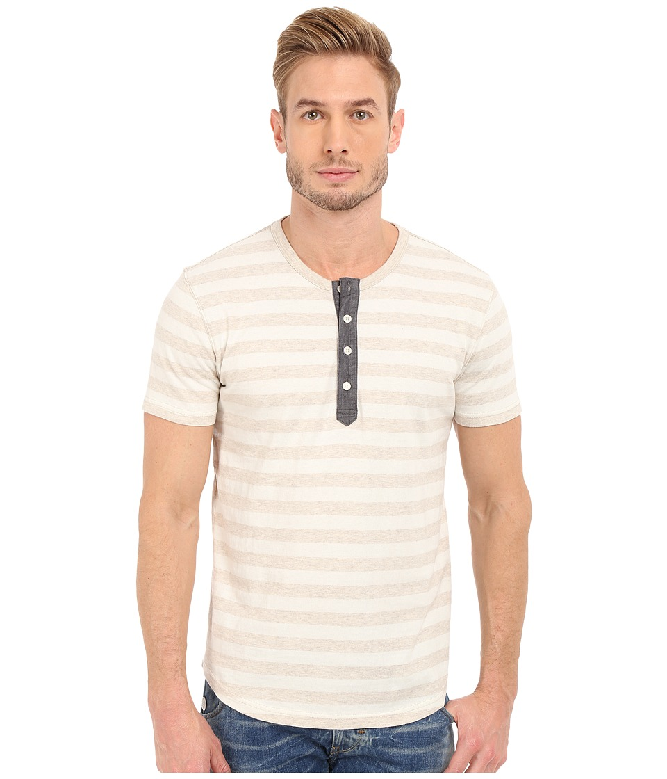 Lucky Brand - Short Sleeve Henley (Multi) Men's T Shirt