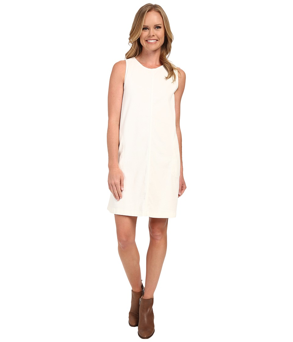 Dylan by True Grit - Effortless Stretch Cotton Airy Tank Dress (Vintage White) Women's Dress