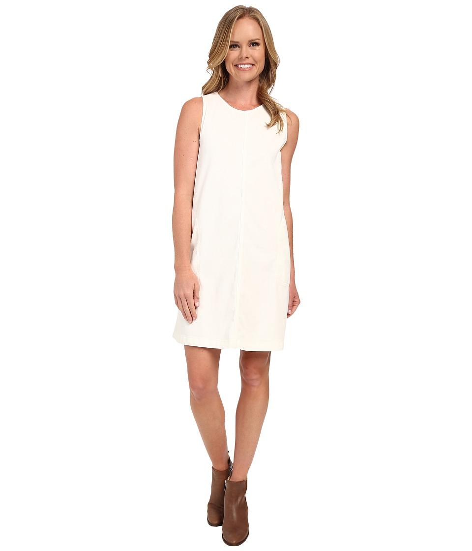 Dylan by True Grit - Effortless Stretch Cotton Airy Tank Dress (Vintage White) Women's Dress