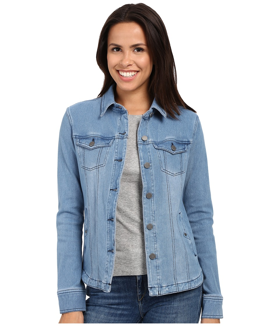 Liverpool - Denim Shirt Jacket (Daylight Blue) Women's Coat