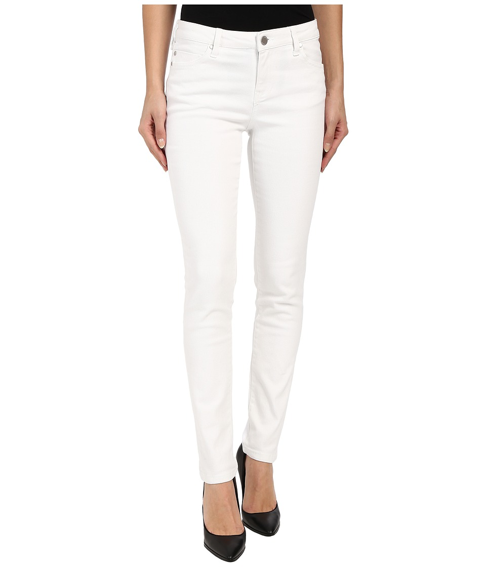 Liverpool - Abby Lightweight Skinny Jeans in Bright White (Bright White) Women's Jeans