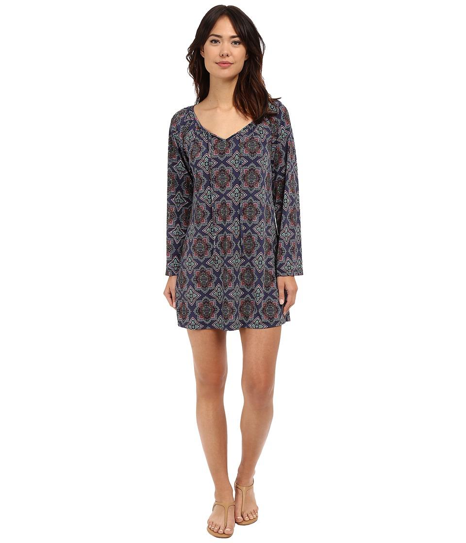 Lucy Love - Montage Dress (Happi Travels) Women's Swimwear