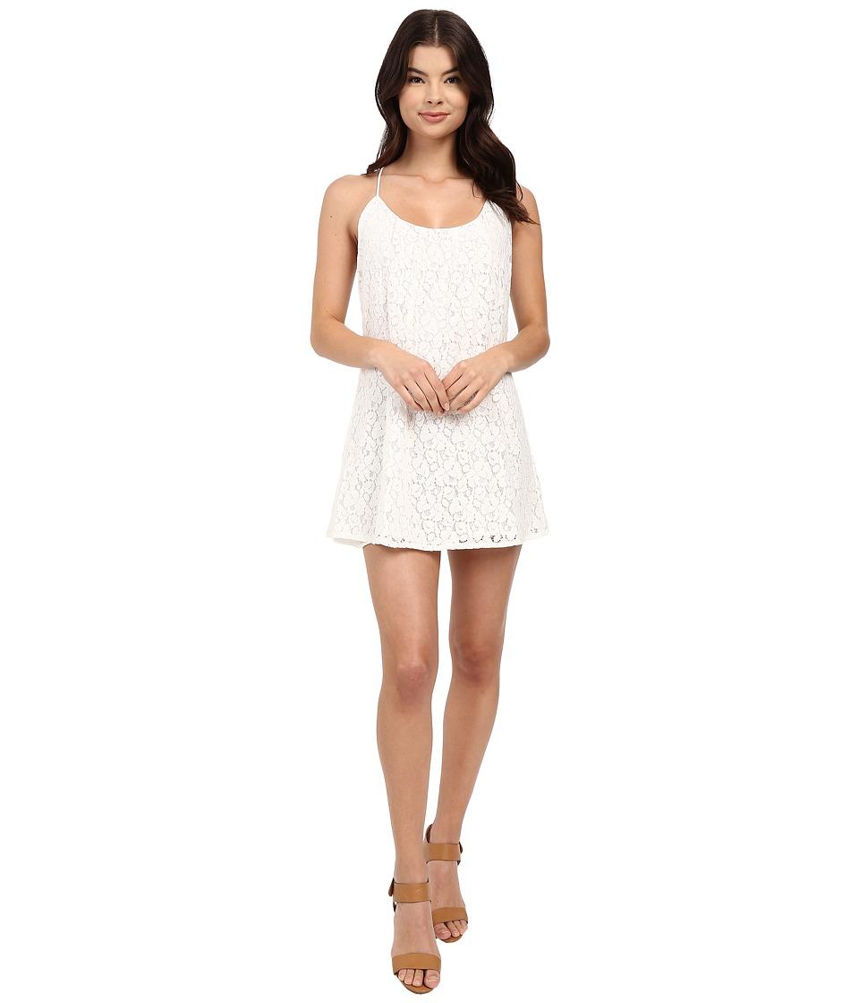 Lucy Love - Take Me To Dinner Dress (White) Women's Dress