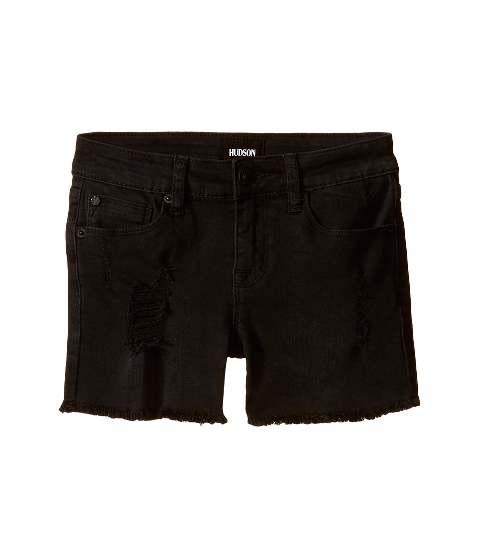 Hudson Kids - 3 Fray Shorts in Clash Wash (Big Kids) (Clash Wash) Girl's Shorts