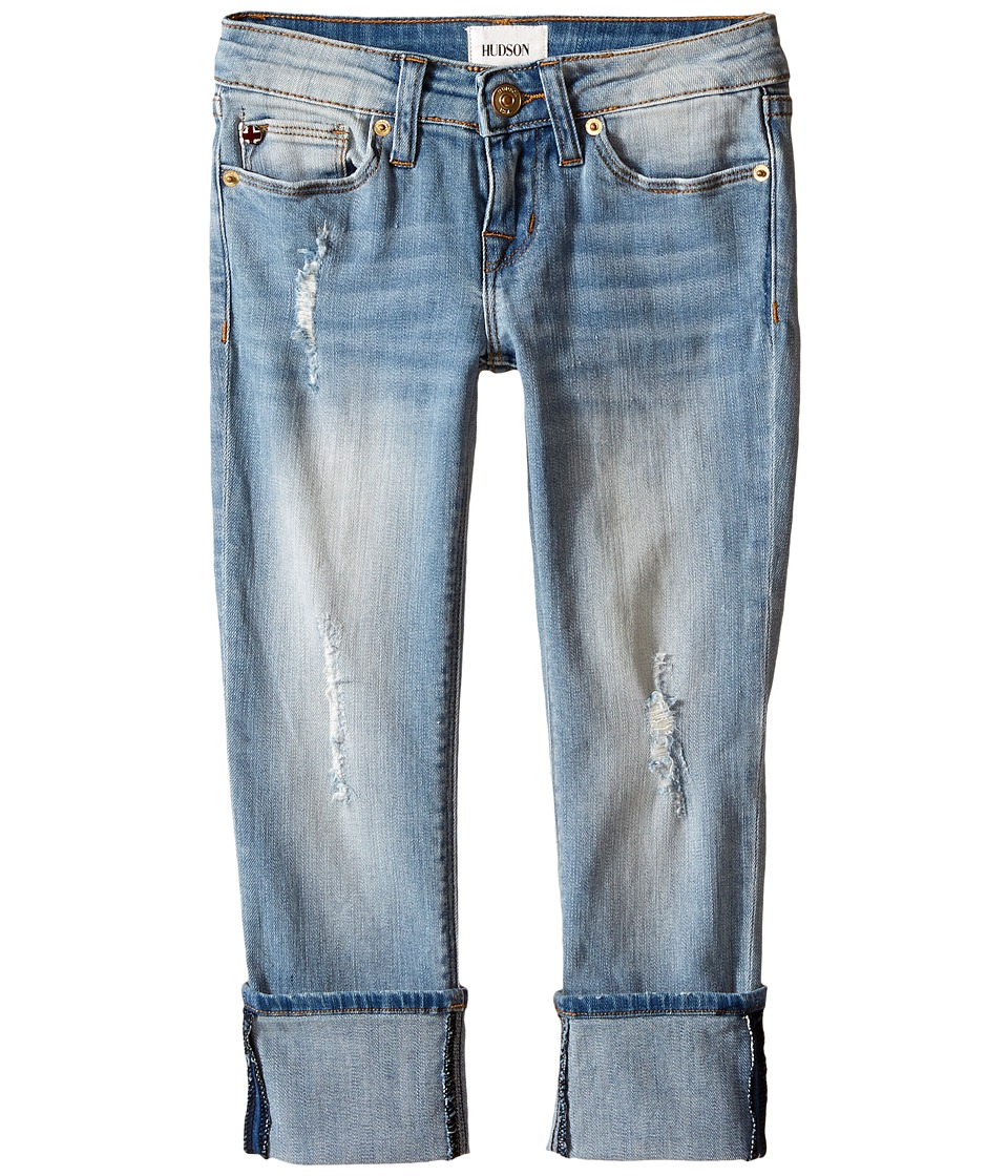 Hudson Kids - Ginny Crop Jeans in Blasted Blue (Big Kids) (Blasted Blue) Girl's Jeans