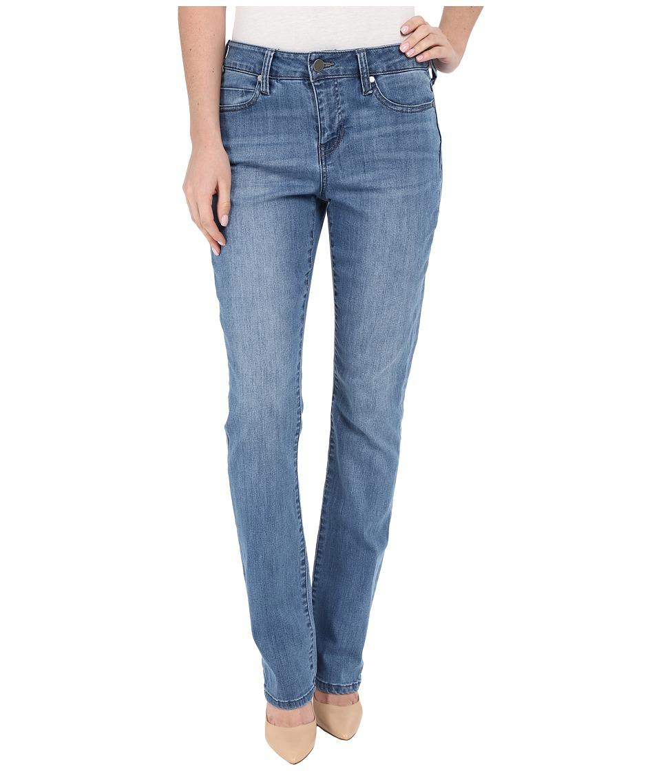 Liverpool - Anthem Curvy Sadie Straight Leg Jeans in Melbourn Light Blue (Melbourn Light Blue) Women's Jeans