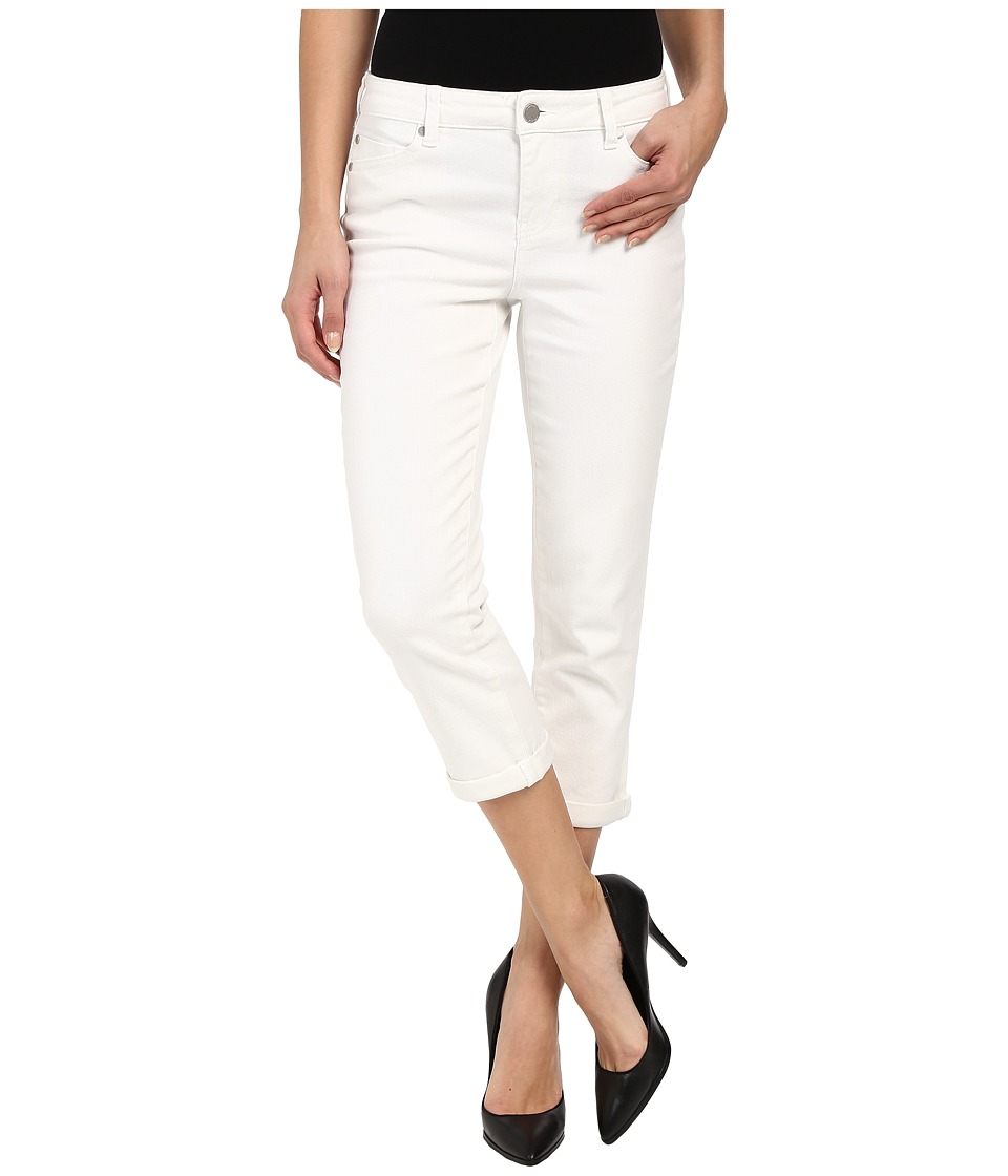 Liverpool - Michelle Lightweight Capri Jeans in Bright White (Bright White) Women's Jeans