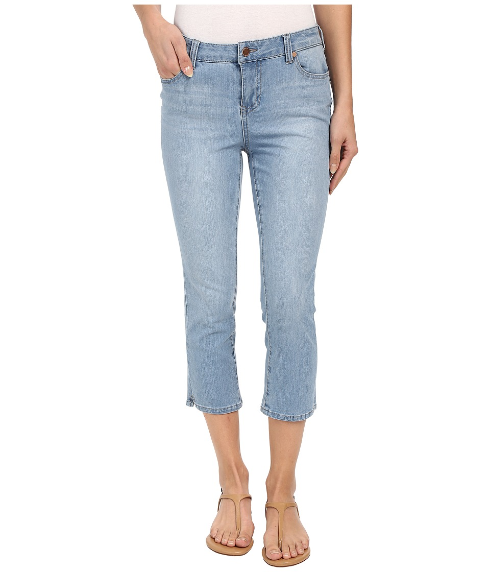 Liverpool Milly Contour 4-Way Stretch Denim Capris in Lyra Light Indigo Stone (Lyra Light Indigo Stone) Women