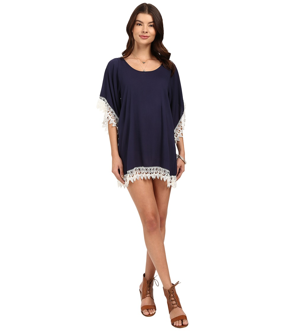 Lucy Love - In Heaven Tunic (Midnight) Women's Dress