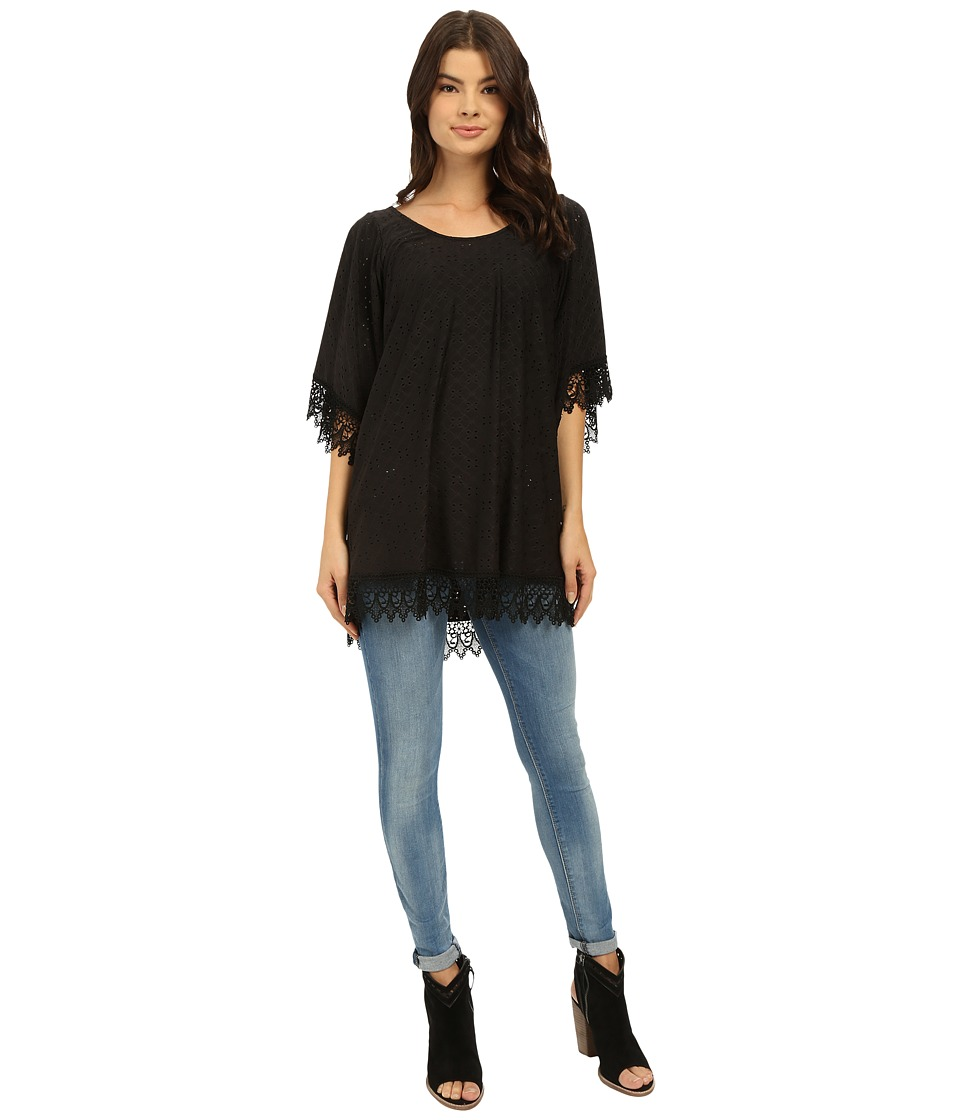 Lucy Love - In Heaven Tunic (Black) Women's Blouse