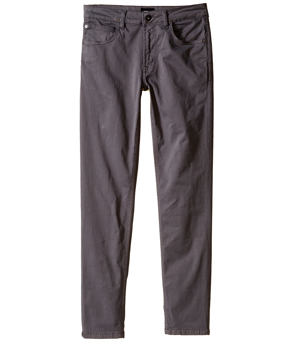 Hudson Kids - Jagger Twill Pants in Mid Grey (Big Kids) (Mid Grey) Boy's Jeans