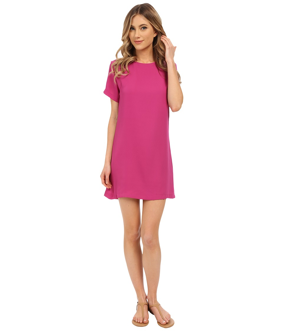 Lucy Love - Charlotte Shift Dress (Magenta) Women's Dress