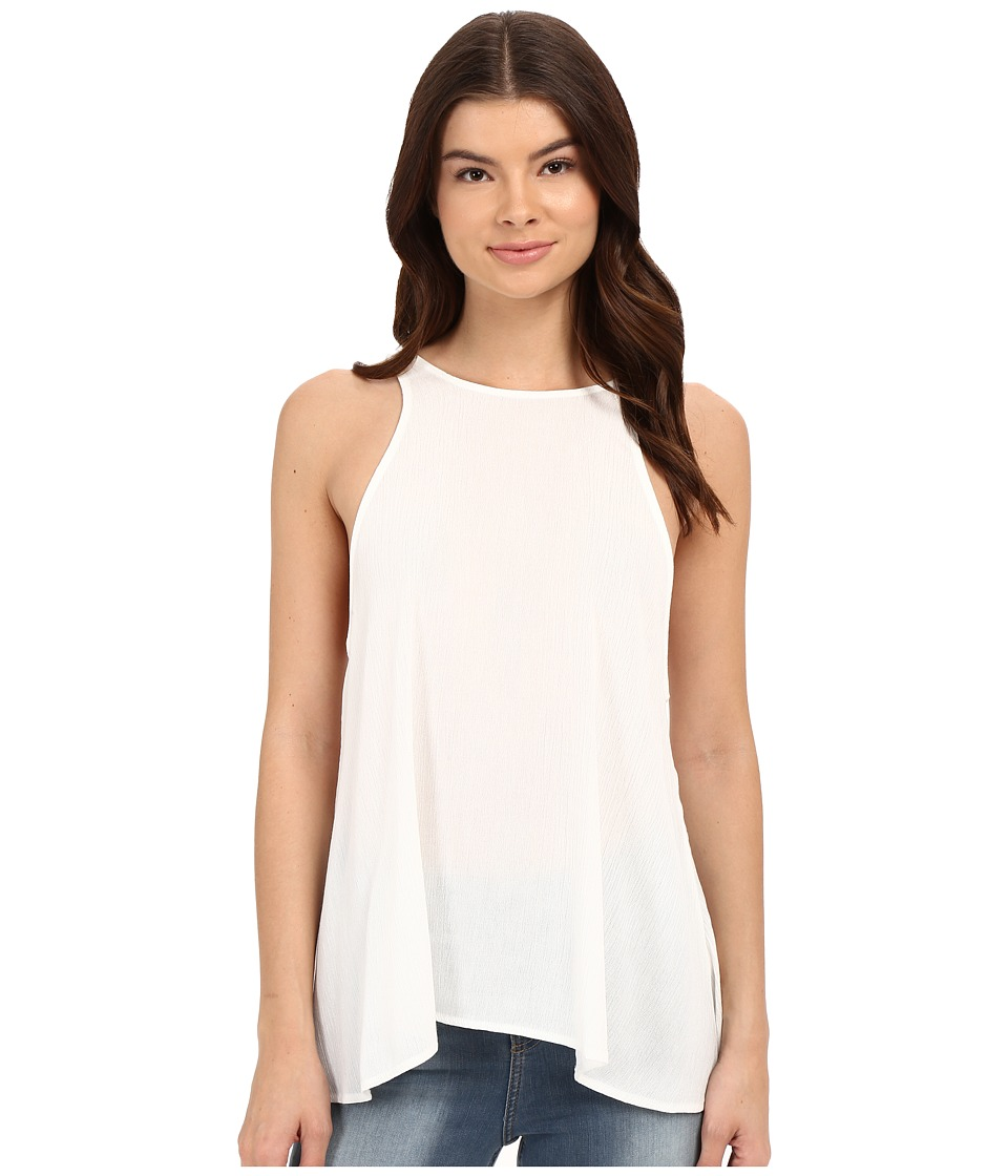 Lucy Love - Charlie Tank Top (White) Women's Sleeveless