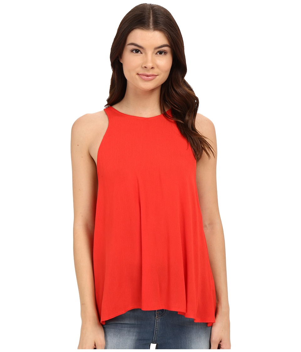 Lucy Love - Charlie Tank Top (Red Freedom) Women's Sleeveless