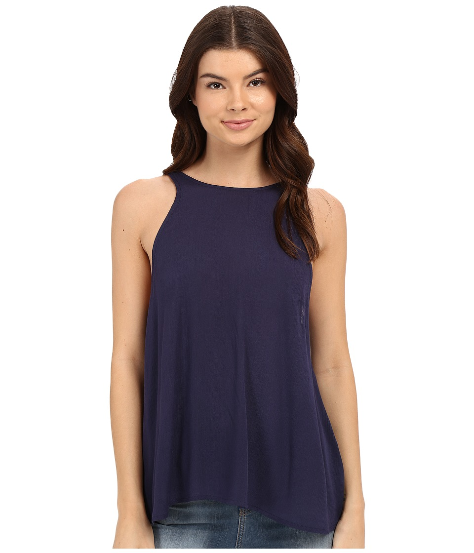 Lucy Love - Charlie Tank Top (Midnight) Women's Sleeveless