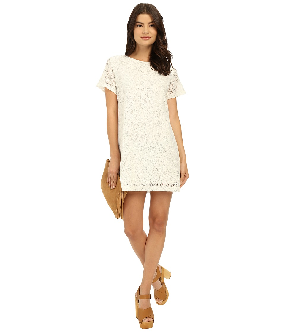 Lucy Love - Charlotte Shift (White) Women's Dress