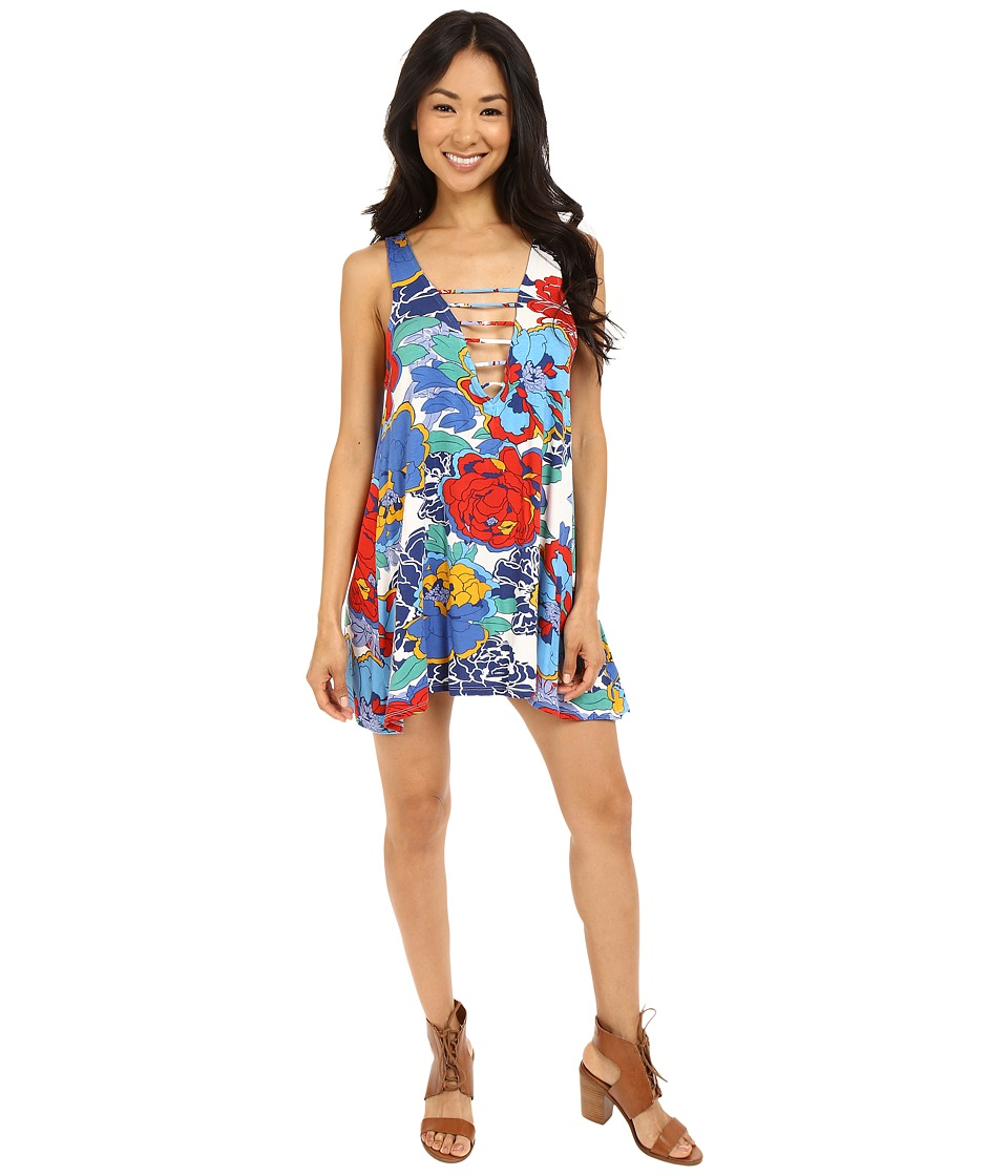 Lucy Love - Lace Me Up Shift (Mad Hatter) Women's Dress
