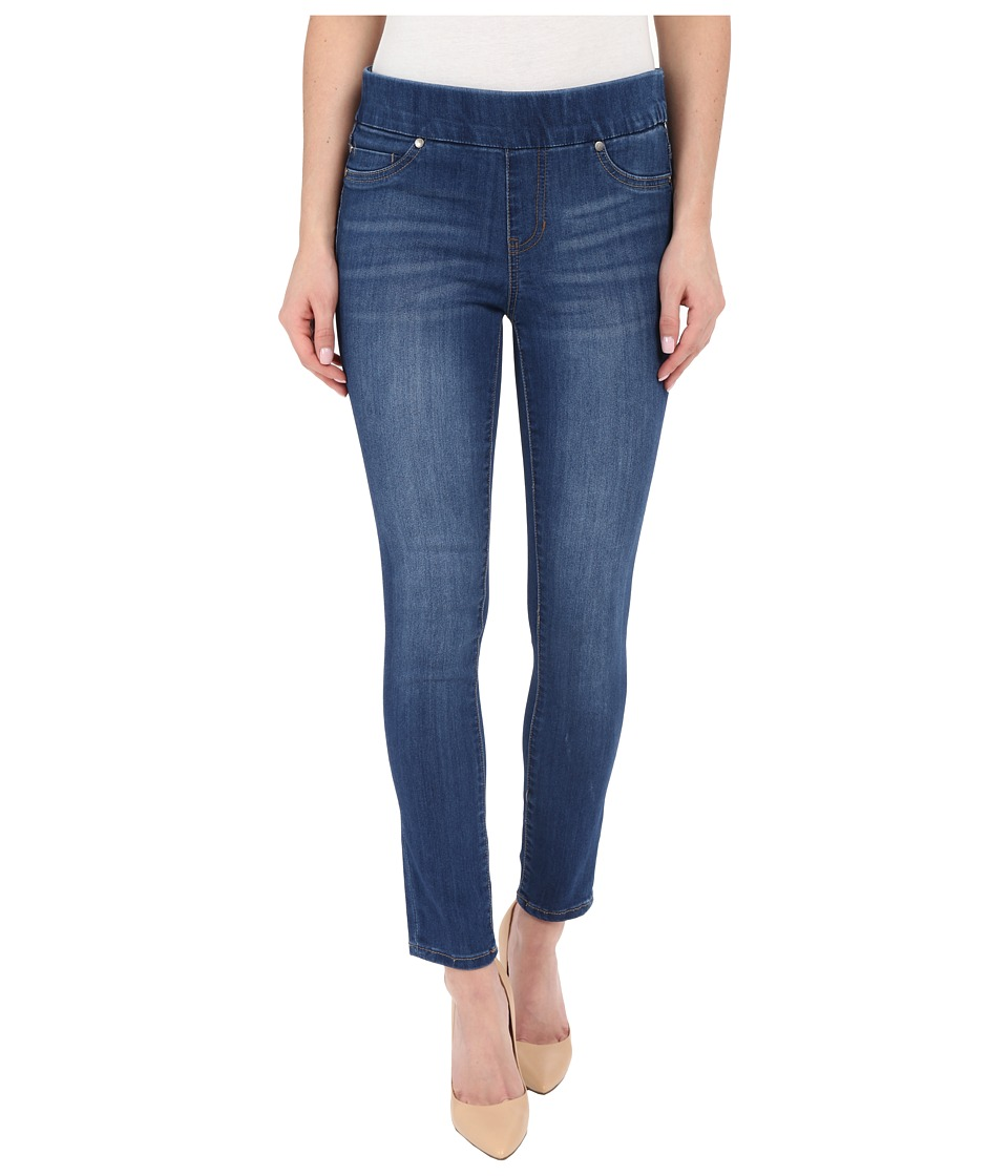Liverpool - Sienna Pull-On Silky Soft Denim Ankle Jeans in Lanier Mid Blue (Lanier Mid Blue) Women