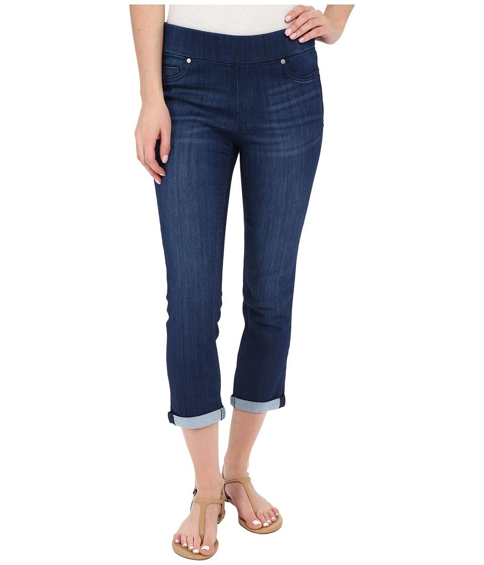 Liverpool - Sienna Pull-On Silky Soft Denim Capris in Havasu Deep Blue (Havasu Deep Blue) Women's Jeans