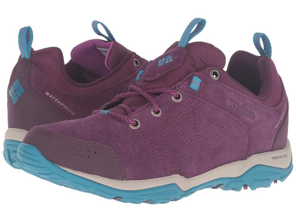 Columbia - Fire Venture Low Waterproof (Purple Dahlia/Intense Violet) Women's Waterproof Boots