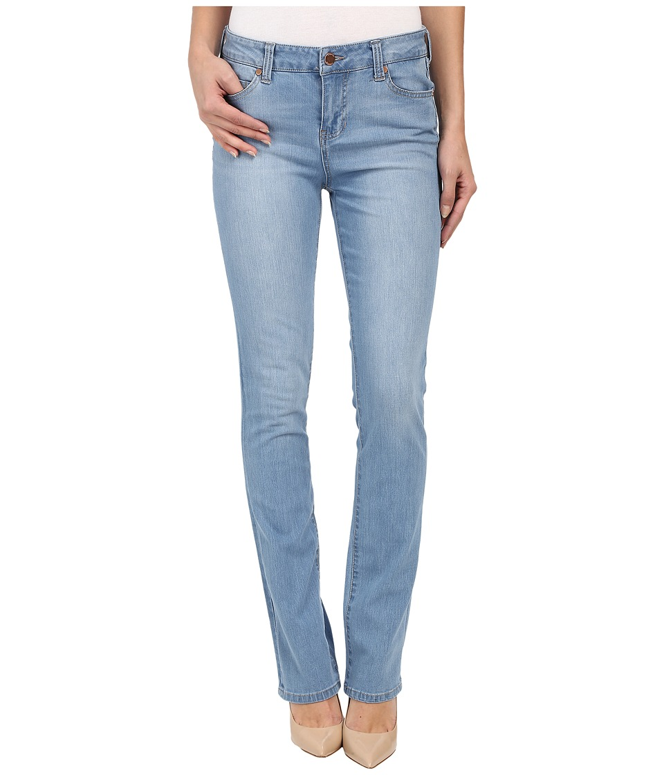 Liverpool - Simone Contour 4-Way Stretch Denim Straight Leg Jeans in Lyra Light Indigo Stone (Lyra Light Indigo Stone) Women's Jeans