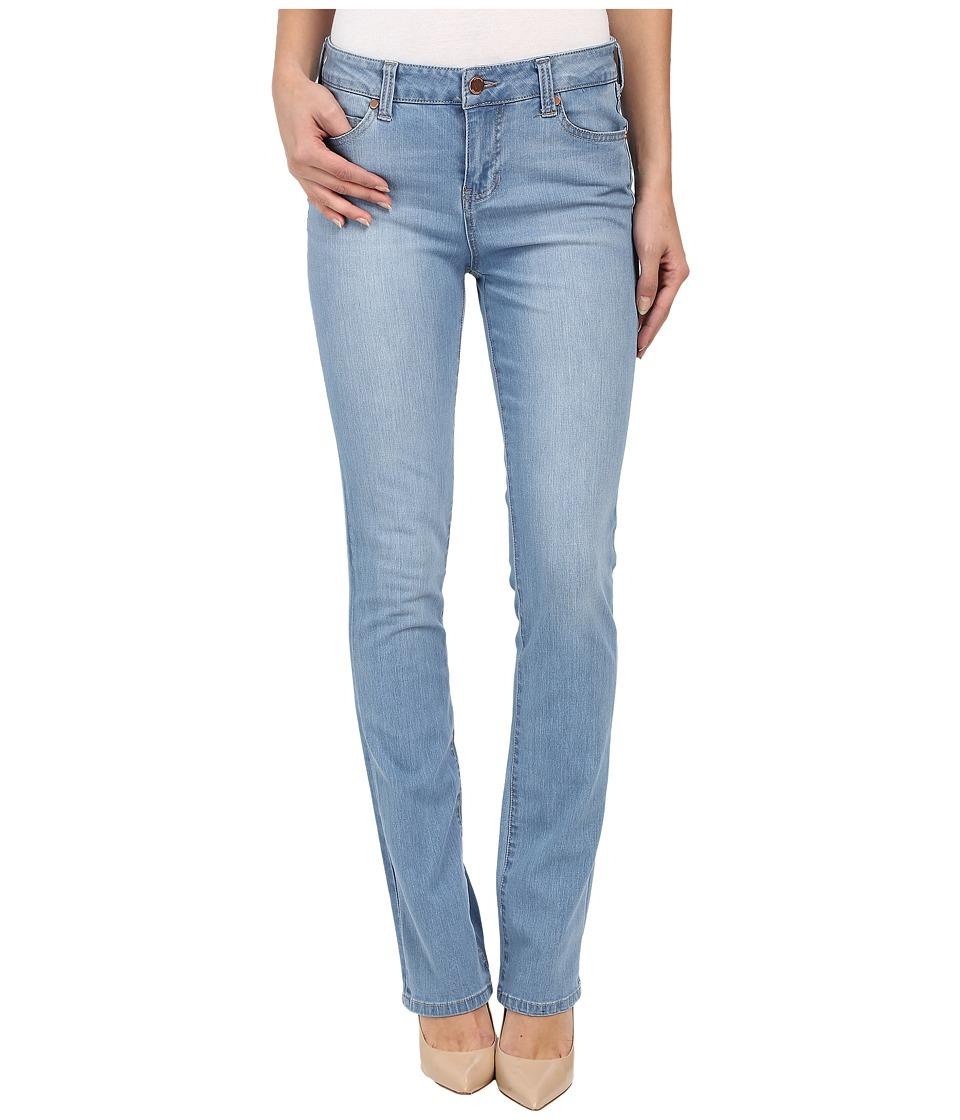 Liverpool - Simone Contour 4-Way Stretch Denim Straight Leg Jeans in Lyra Light Indigo Stone (Lyra Light Indigo Stone) Women's Jeans