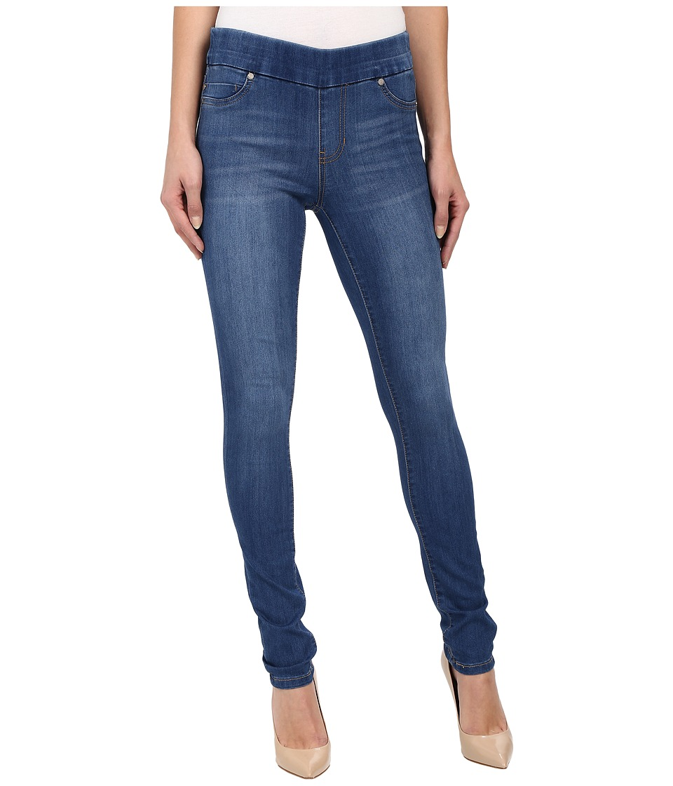 Liverpool - Sienna Pull-On Silky Soft Denim Skinny Jean Leggings in Lanier Mid Blue (Lanier Mid Blue) Women's Jeans