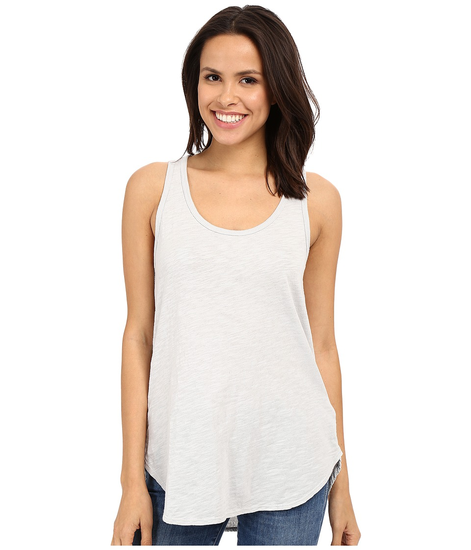 Dylan by True Grit - Soft Gauzy Cotton Knit High-Low Tank Top (Pale Sky) Women's Sleeveless