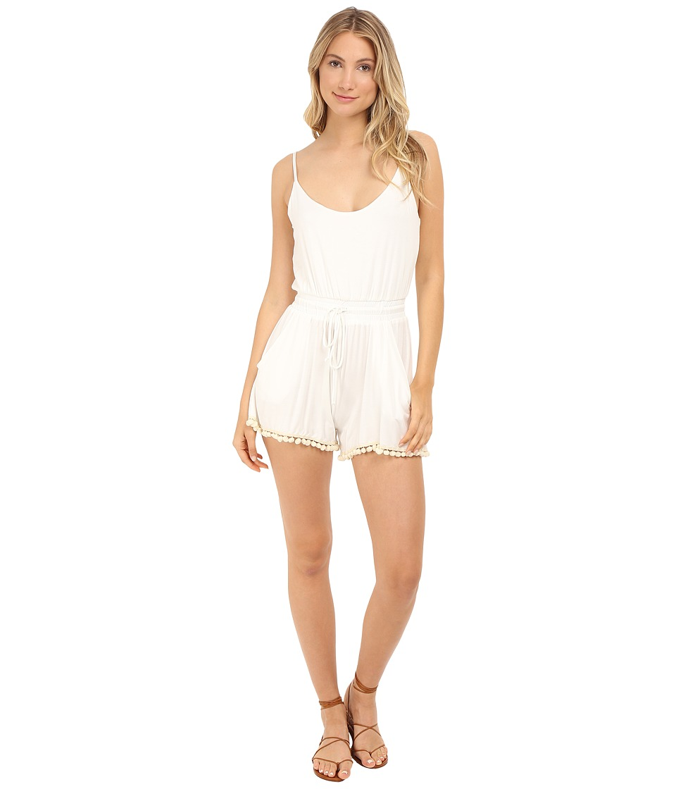 Lucy Love - Riley Romper (Ivory) Women's Jumpsuit & Rompers One Piece