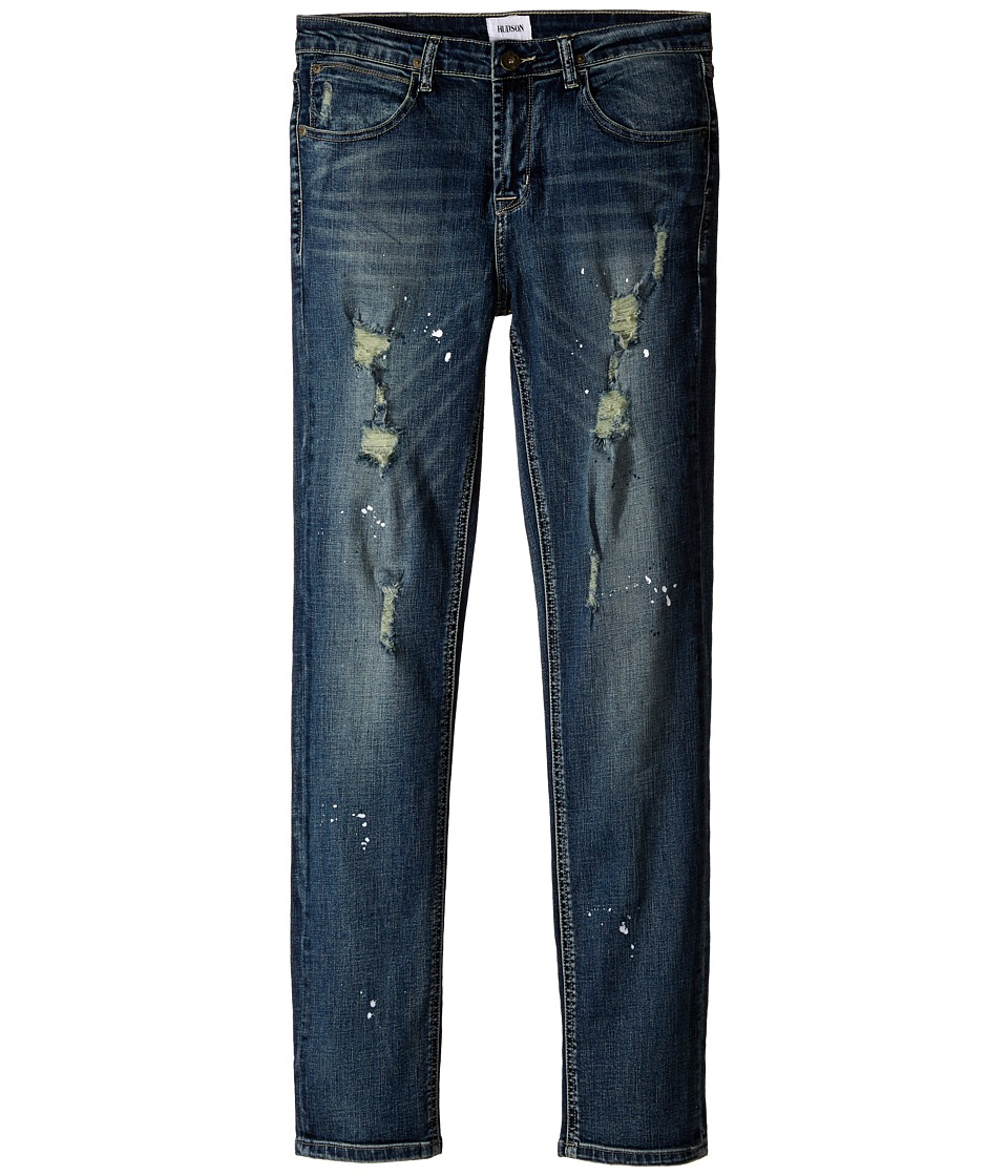 Hudson Kids - Jagger Straight Five-Pocket in Rain Wash (Big Kids) (Rain Wash) Girl's Jeans