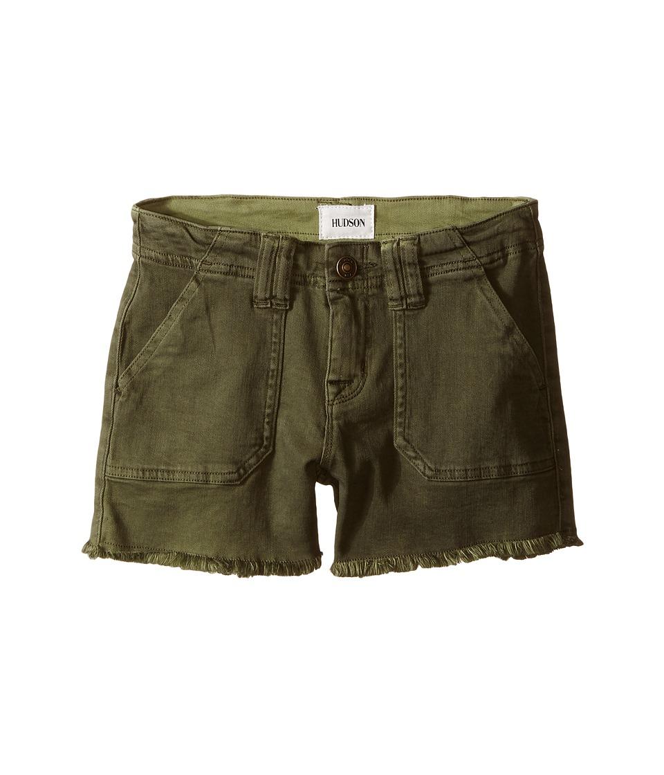 Hudson Kids - Utility Shorts in Ivy (Big Kids) (Ivy) Girl's Shorts