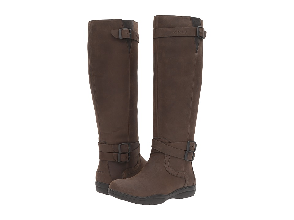 Columbia Jessa Waterproof Black Pebble Womens Waterproof Boots