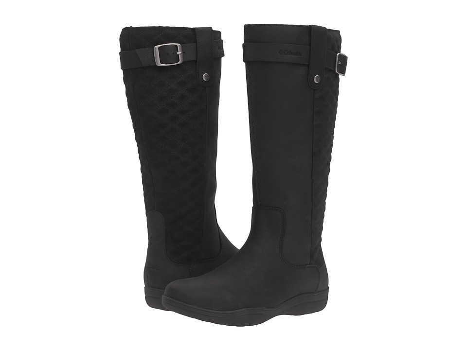 Columbia Lisa Waterproof Black Quarry Womens Waterproof Boots