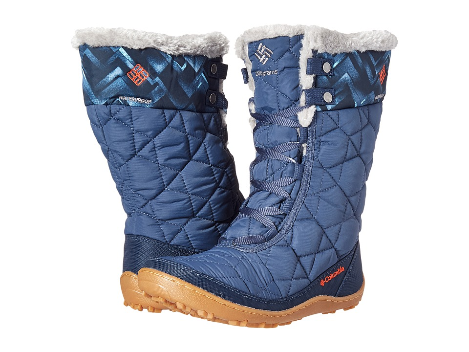 Columbia - Minx Mid II Omni-Heat Print (Dark Mountain/Spicy) Women's Cold Weather Boots