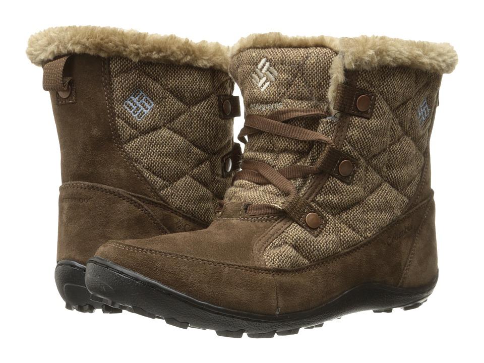 Columbia - Minx Shorty Omni-Heat Wool (Umber/Dark Mirage) Women's Shoes