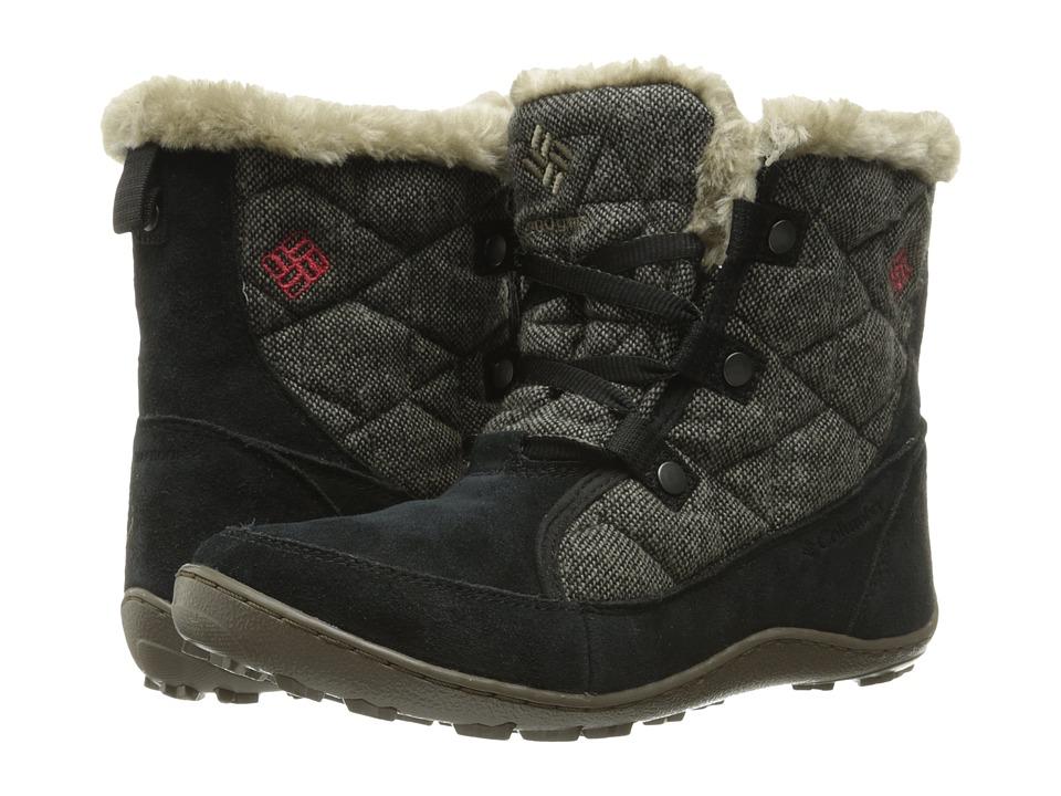 Columbia - Minx Shorty Omni-Heat Wool (Black/Burnt Henna) Women's Shoes