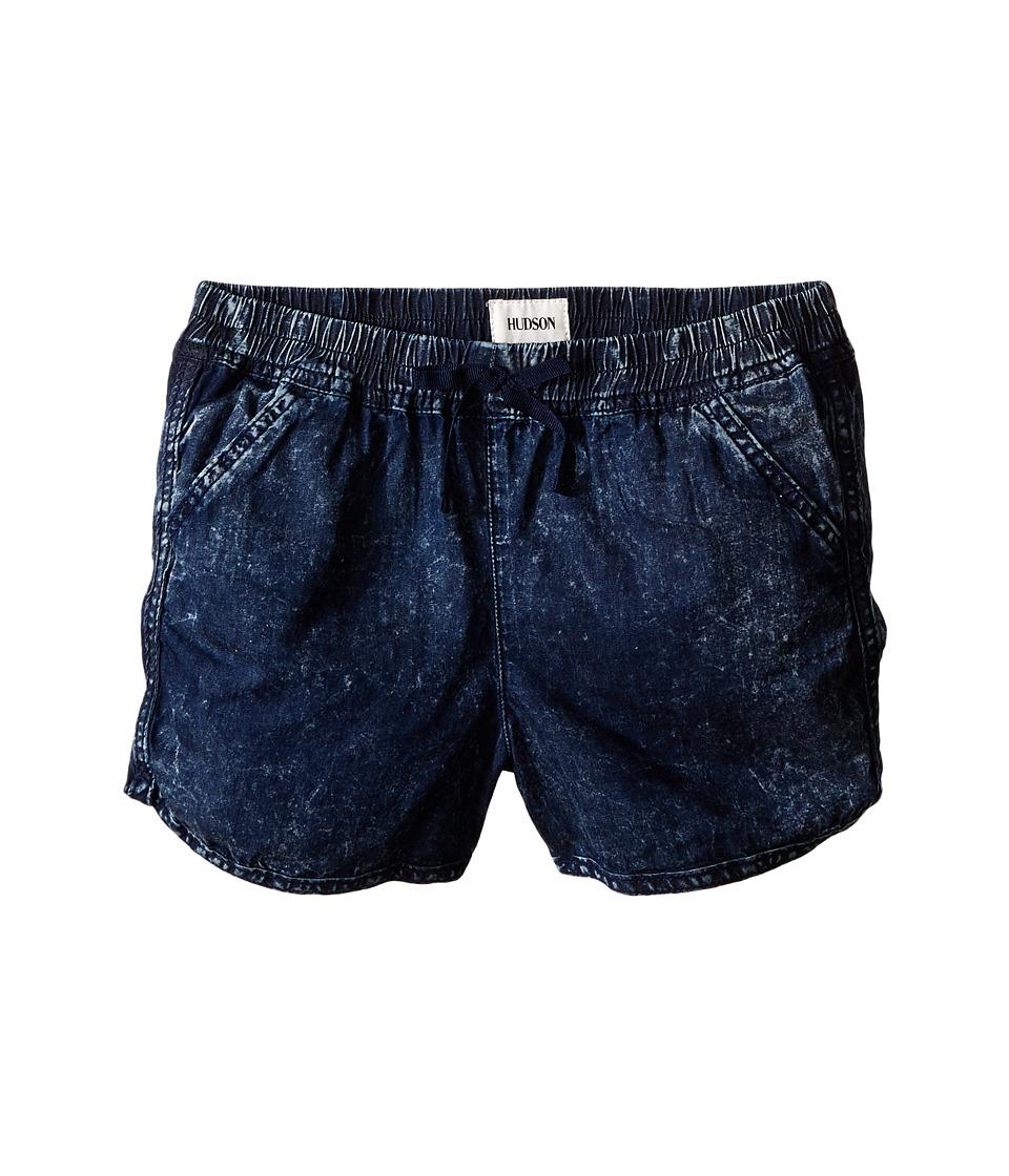 Hudson Kids - Jog Shorts in Sapphire (Big Kids) (Sapphire) Girl's Shorts