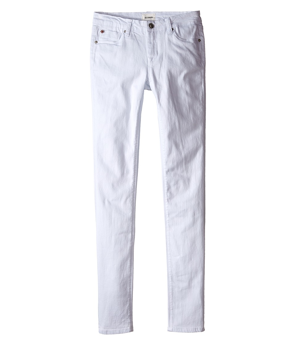 Hudson Kids - Dolly Skinny in White (Big Kids) (White) Girl's Jeans