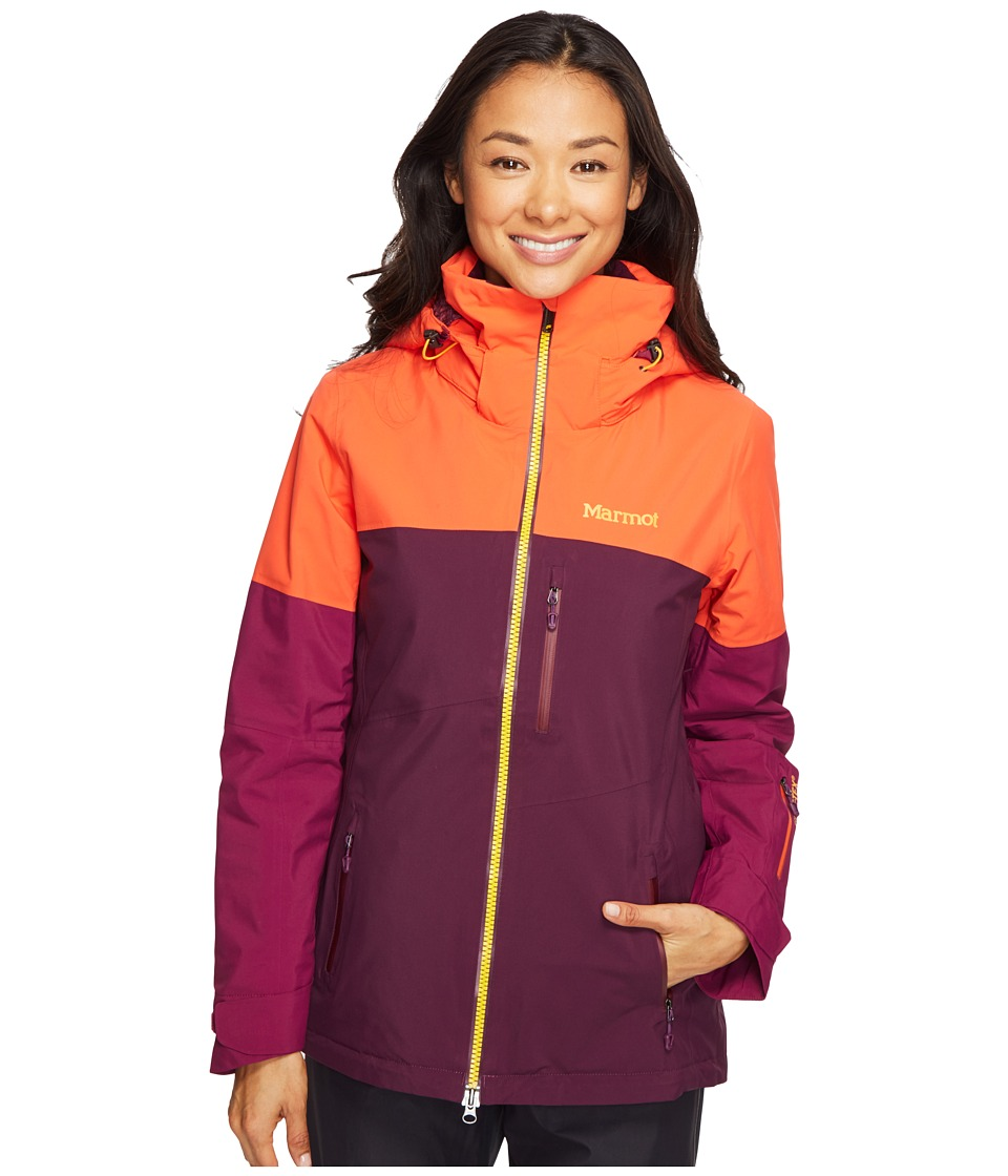 Marmot - Jumpturn Jacket (Poppy/Magenta) Women's Coat