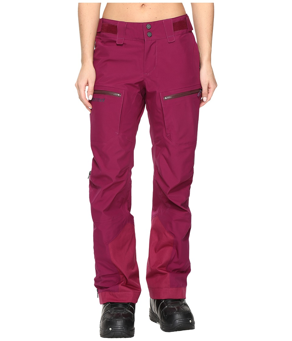 Marmot - Cheeky Pants (Magenta) Women's Casual Pants