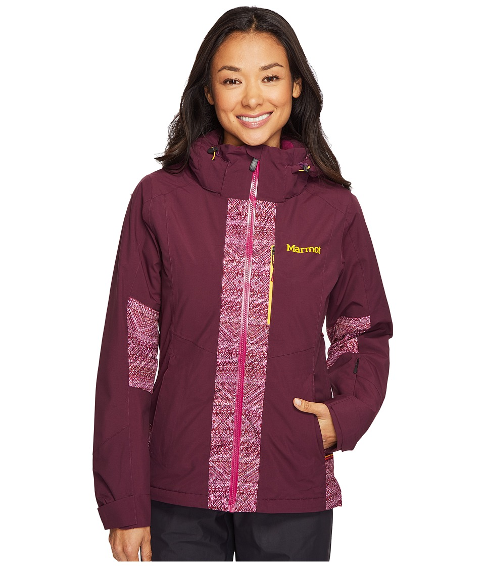 Marmot - Catwalk Jacket (Dark Purple/Magenta Chile) Women's Coat