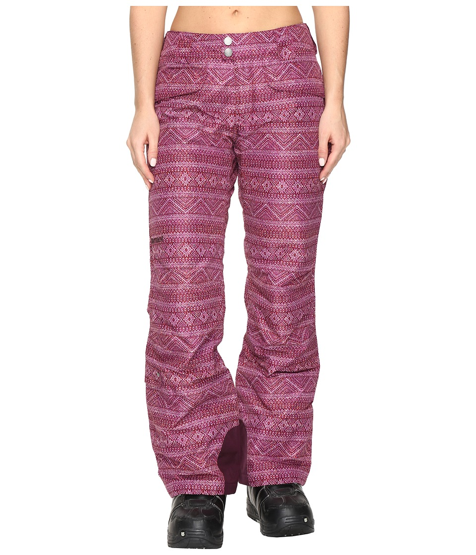 Marmot - Whimsey Pants (Magenta Chile) Women's Casual Pants