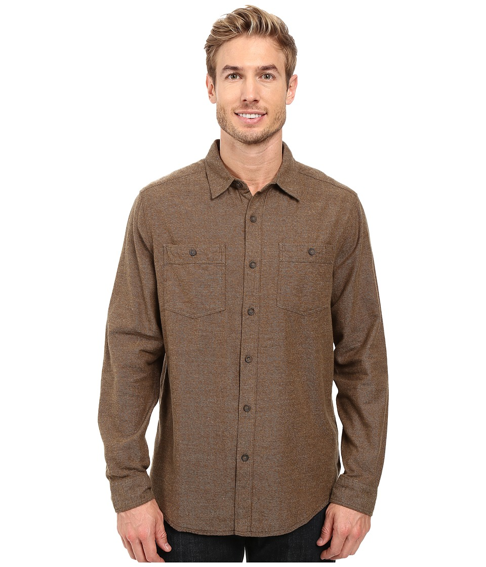 Royal Robbins - Bristol Tweed Long Sleeve Shirt (Desert Palm) Men's Long Sleeve Button Up