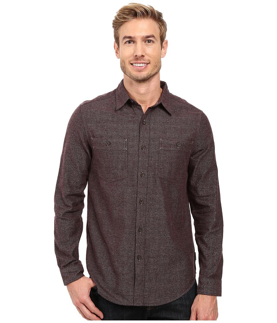 Royal Robbins - Bristol Tweed Long Sleeve Shirt (Petrified Oak) Men's Long Sleeve Button Up