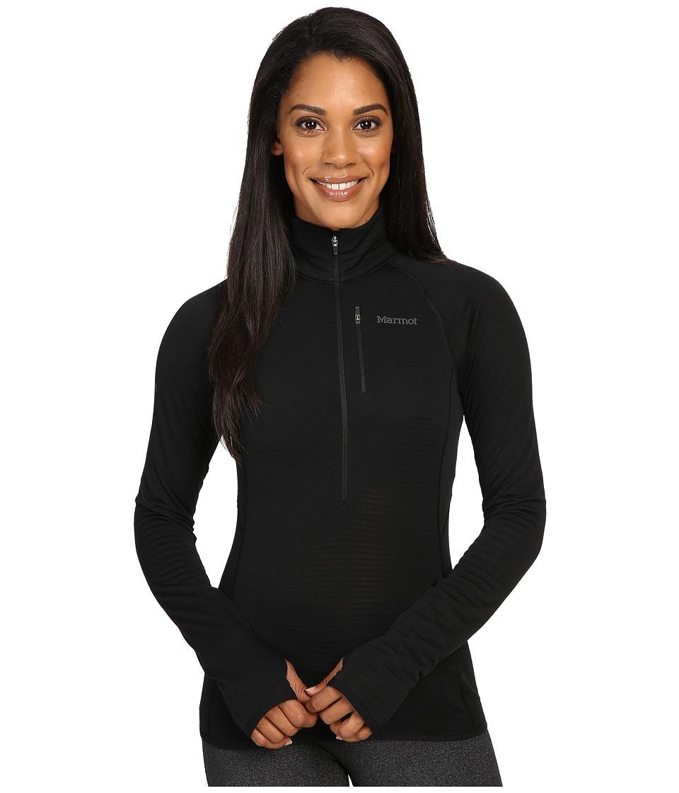 Marmot - Neothermo 1/2 Zip (Black) Women's Coat