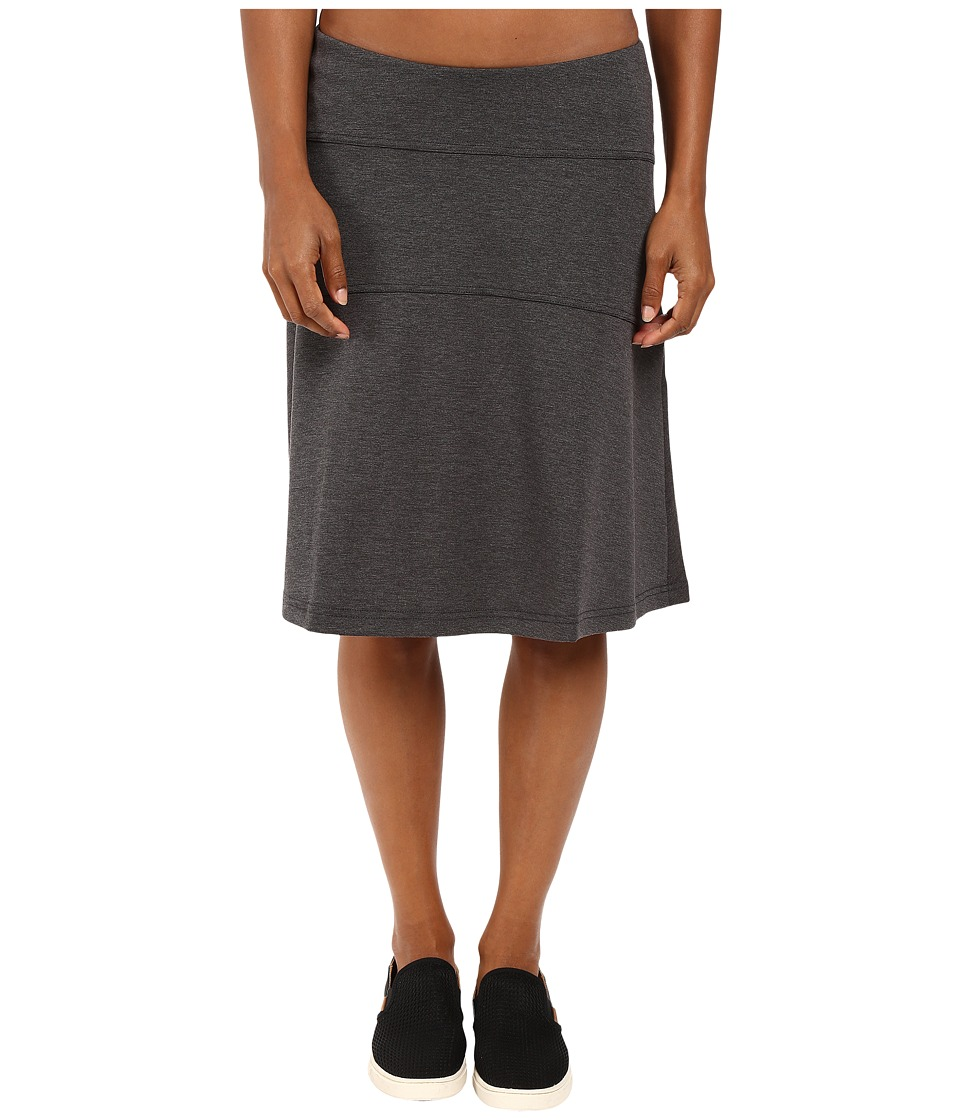 Royal Robbins Metro Melange Skirt (Charcoal) Women